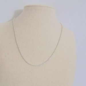 Giani Bernini Sterling Silver Rope Chain Necklace